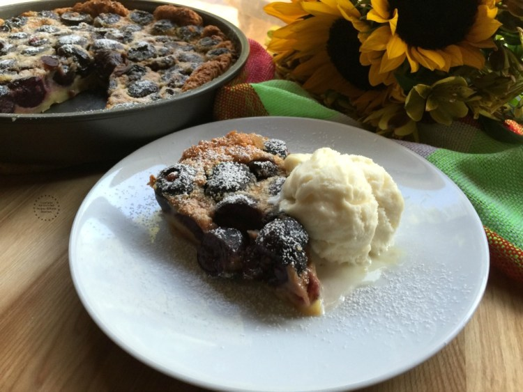 Delightful French Clafoutis Black Cherry Dessert