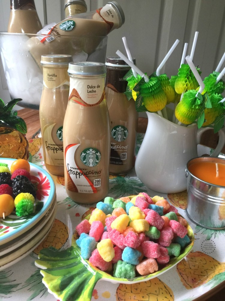 Who doesn't love a tasty cold coffee drink in the afternoon paired with yummy treats