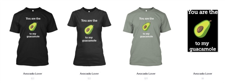 Avocado Lover Collection