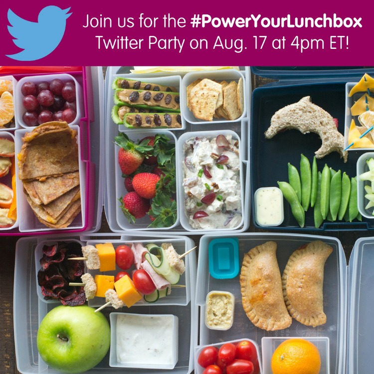 PowerYourLunchbox Twitter Party
