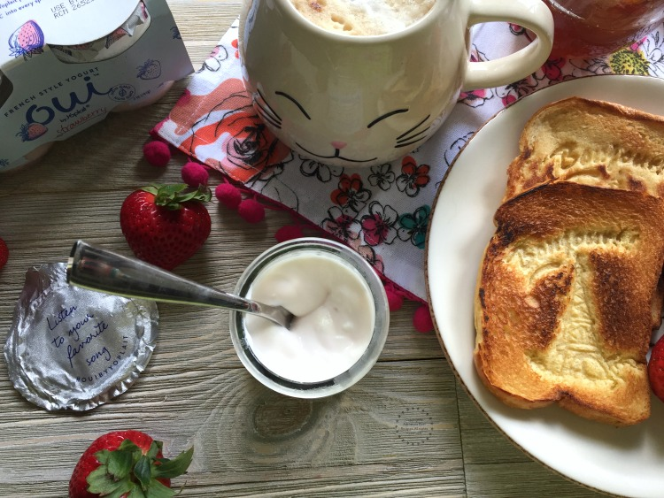 Bonjour starts with a yummy breakfast