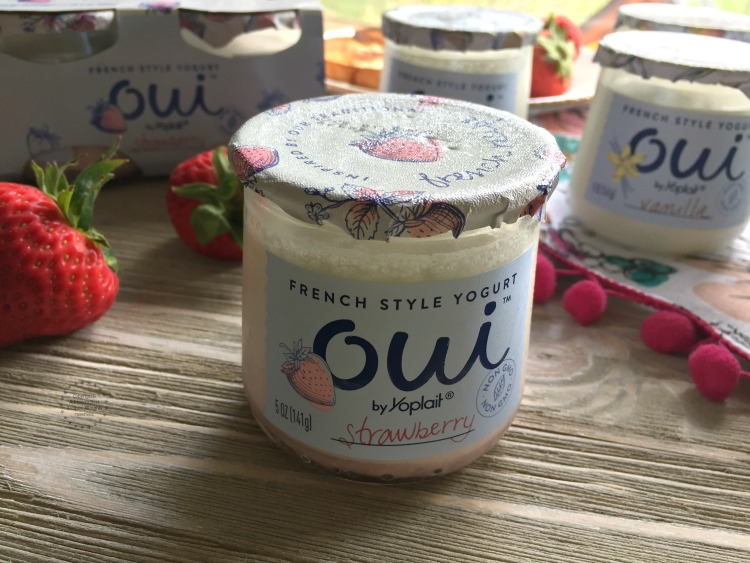 Oui by Yoplait a unique French style yogurt