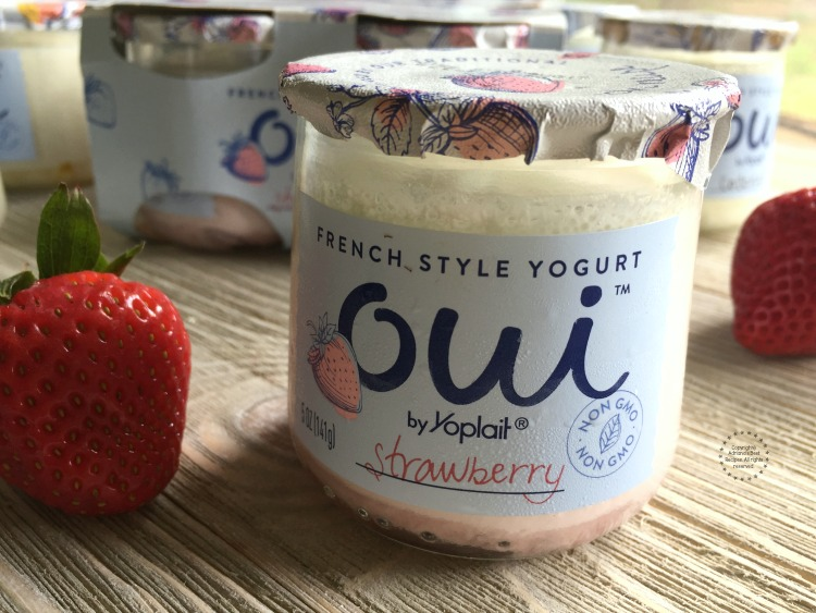 Truly enjoyed Oui by Yoplait strawberry