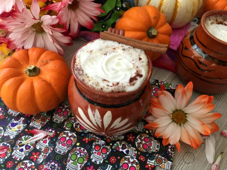 The Pumpkin Spice Cafe de Olla for the Day of the Dead Feast
