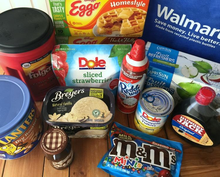 Encuentra todos los productos para organizar tu merienda de waffles en Walmart