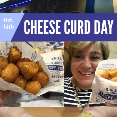 Celebrating National Cheese Curd Day
