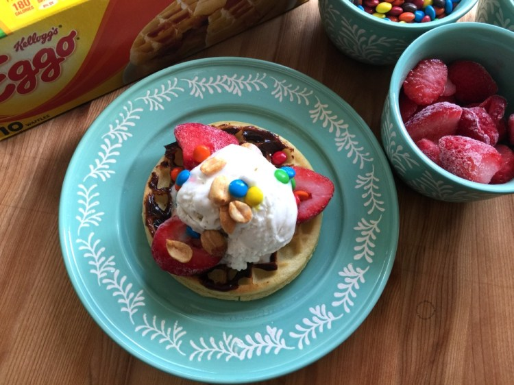 The Strawberry Chocolate Waffle