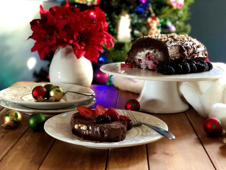 Rollo de Chocolate Suizo inspirado en la receta original de mamá