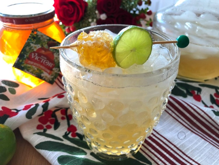 Enjoy the Honeycomb Margarita as a mocktail too