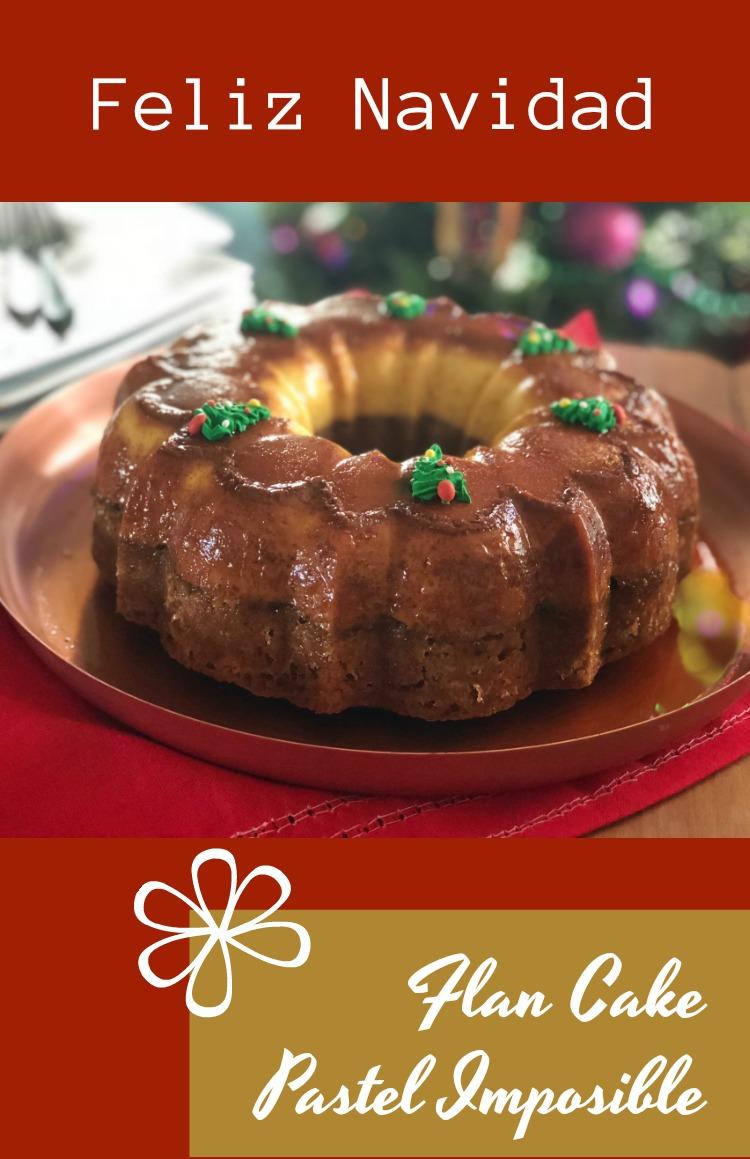 Pastel Imposible de Navidad para crear felicidad y dulces momentos