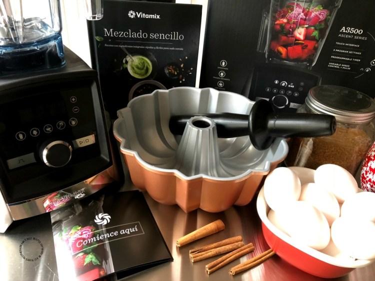The Vitamix® Ascent ™ 3500 blender my partner in the kitchen