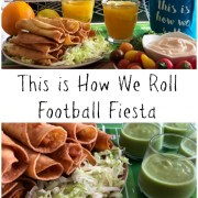 Learn how we roll when organizing a football fiesta at home.