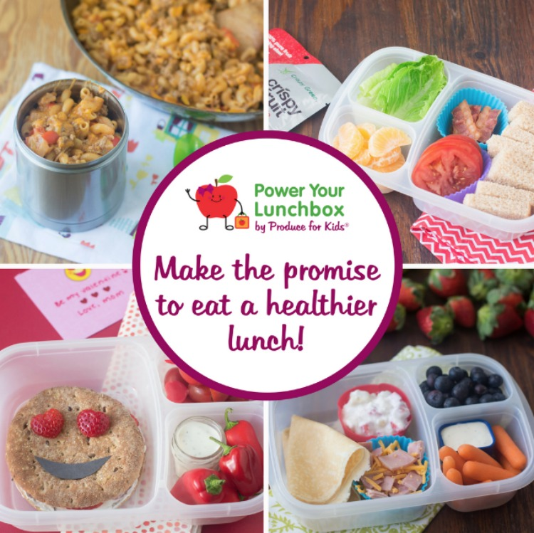 Make the promise of a healthier lunch