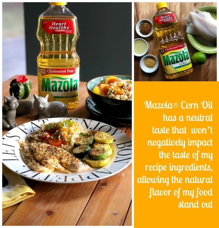Mazola Corn Oil has a neutral taste