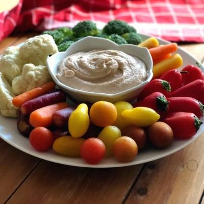 Pinto Bean Hummus Appetizer