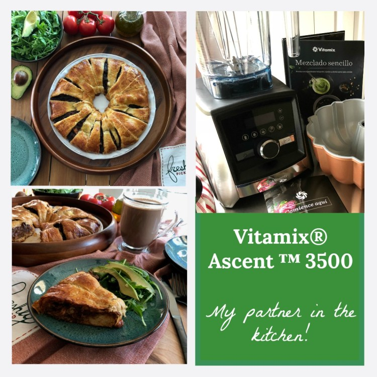 The Vitamix Ascent 3500 blender is my partner in the kitchen