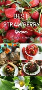 Mis mejores recetas con fresas