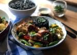 Pollo Asado en Salsa Hoisin y Ajo para la Cena