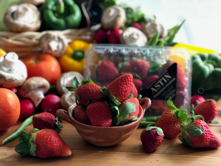 Florida fresh strawberries
