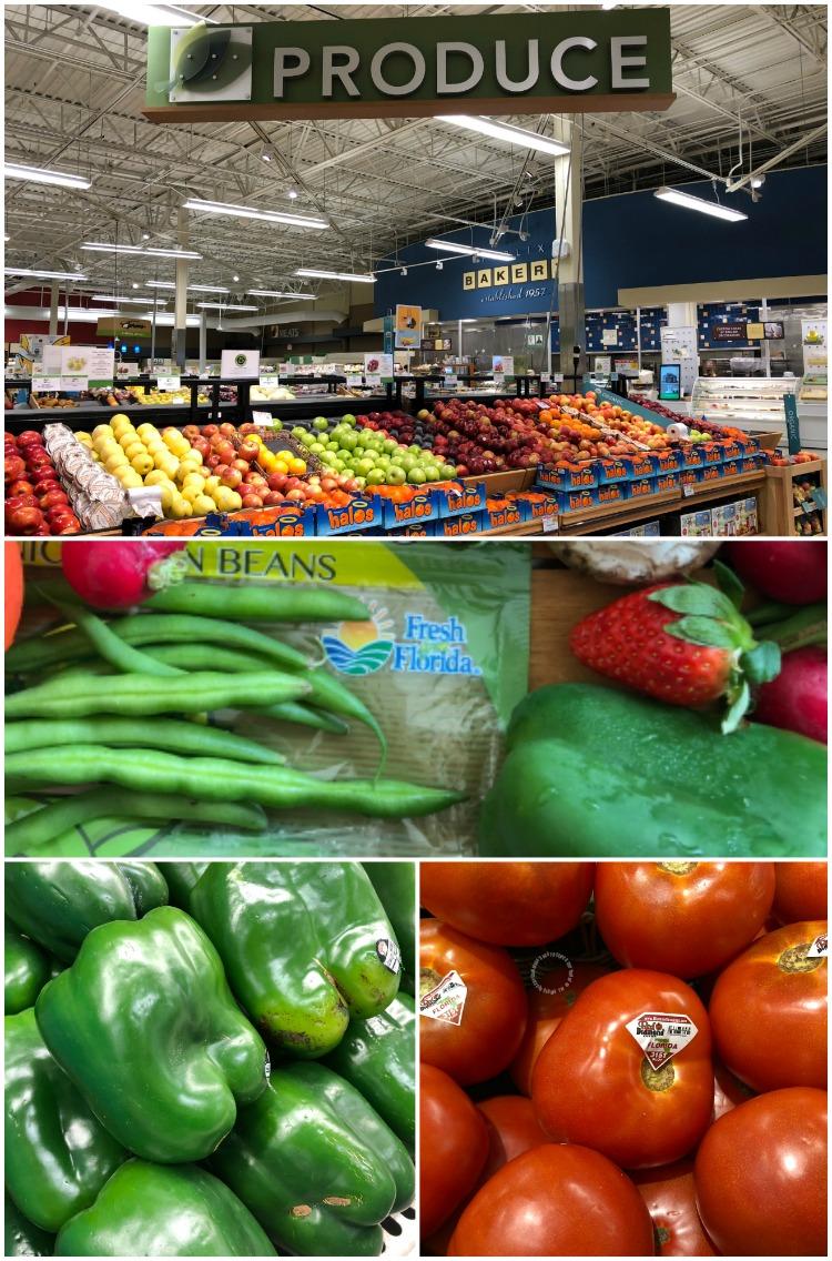 De compras en Publix en donde compramos frutas y verduras frescas Fresh From Florida