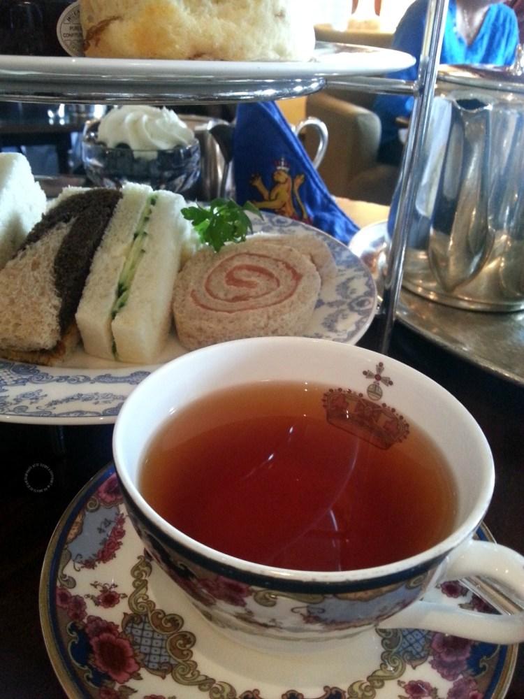 Delicioso Menú para la hora del té en el Empress