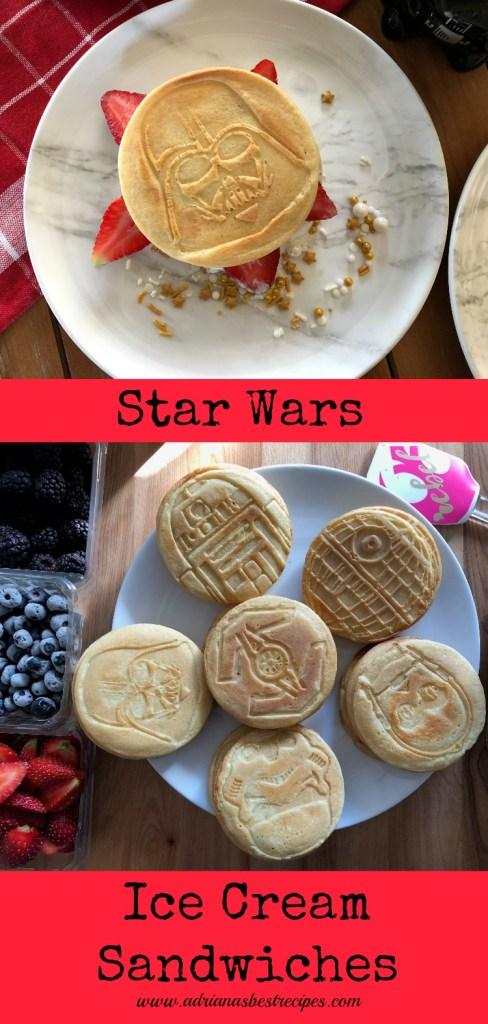 Sandwiches de Helado para celebrar Star Wars