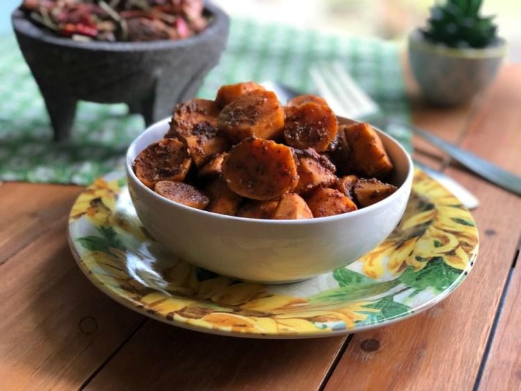 Las mejores batatas al chipotle, una receta hecha en el sous-vide