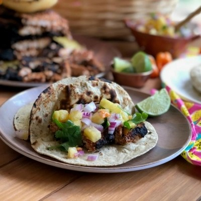 Pork Tacos al Pastor for Grilling Season