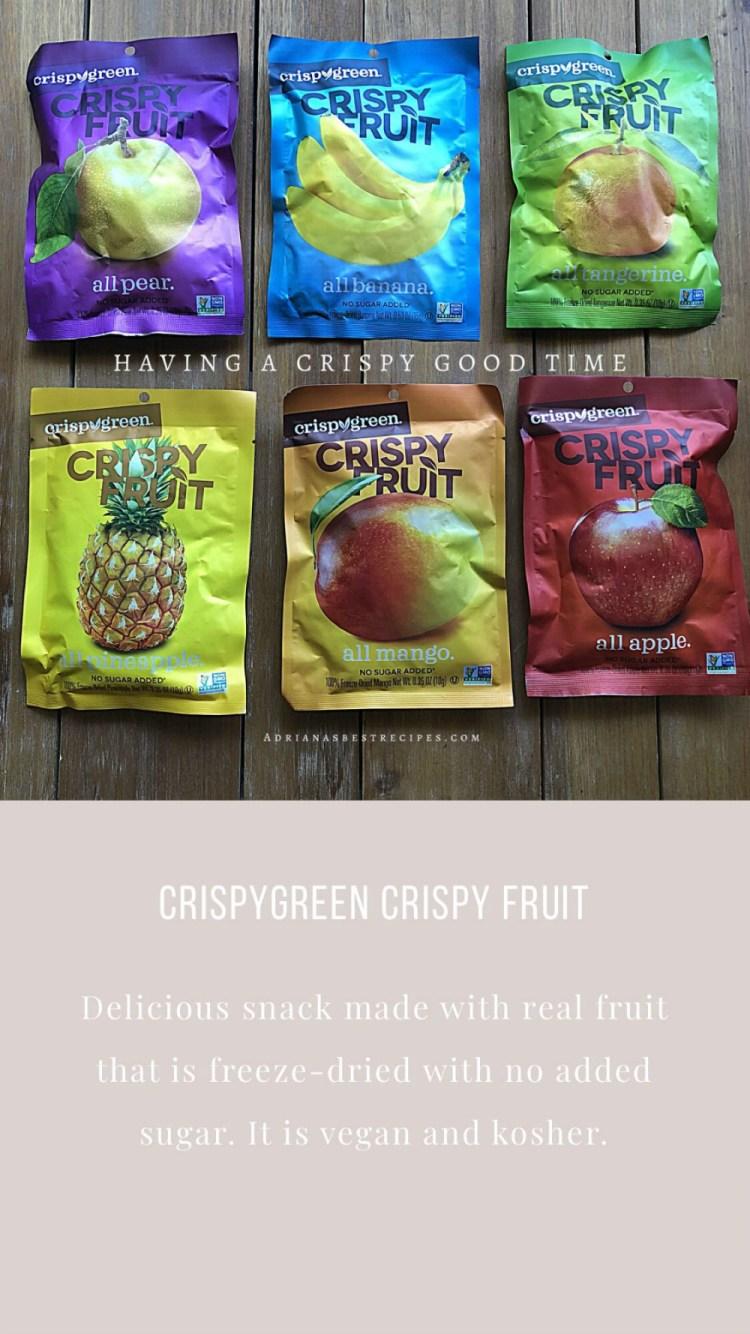 Crispy Green Fruit Snacks