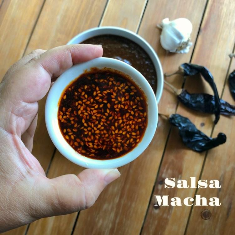 Esta es la salsa macha