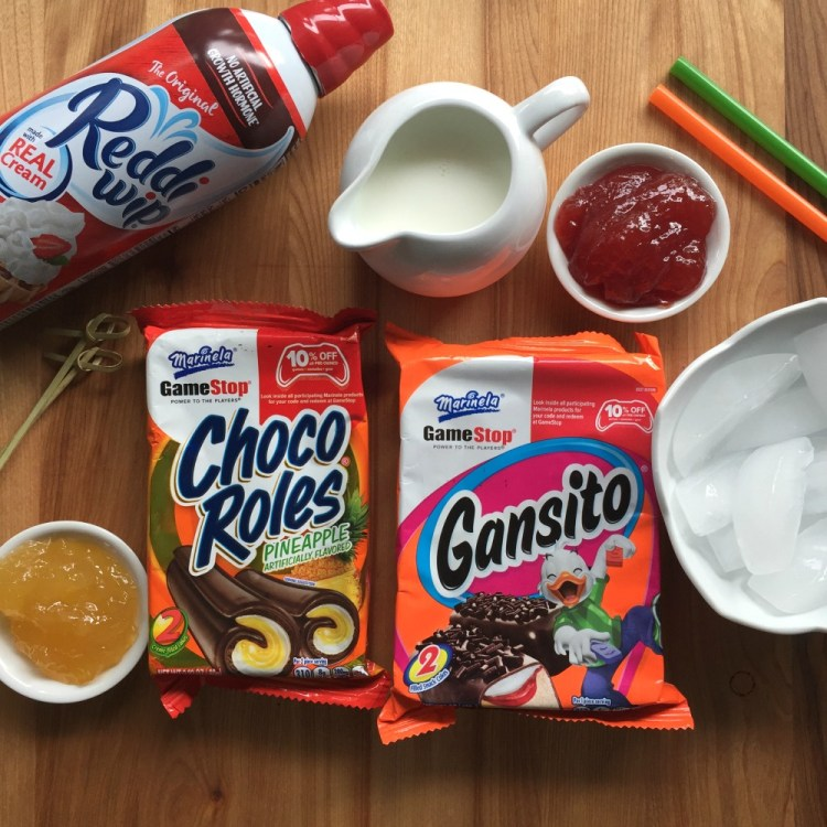 Ingredients to make the Mexican Milkshakes