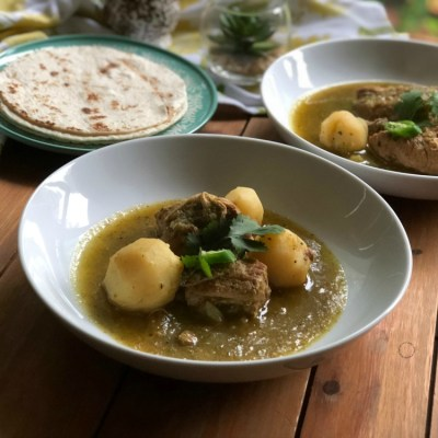 Instant Pot Salsa Verde Pork Stew