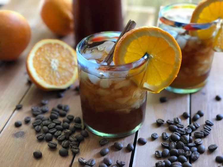 Refreshing Iced Coffee Mexican Style