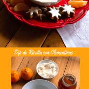 Como preparar el dip de ricotta con clementinas