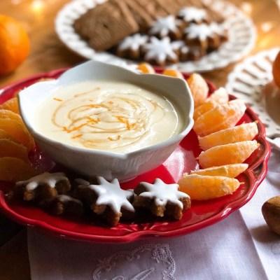 Ricotta Clementine Dip for Santa