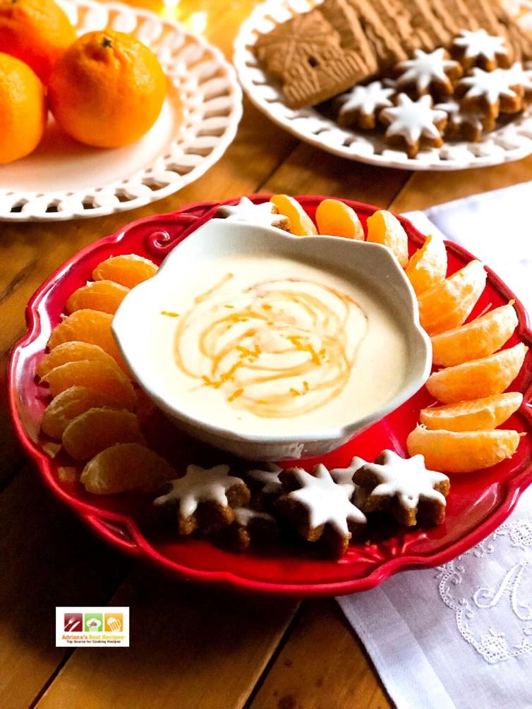 El dip de ricotta es un delicioso complemento para las galletas
