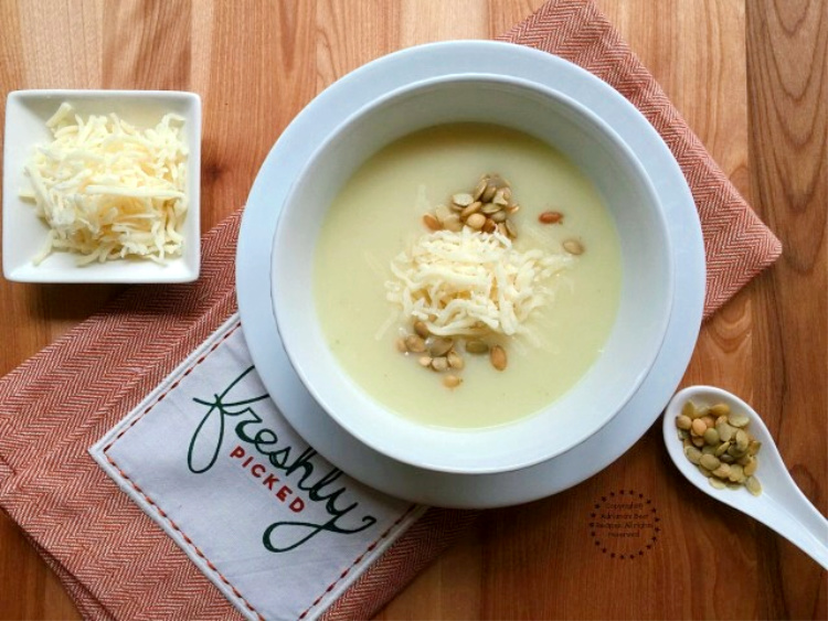 Chayote Cream Soup Recipe
