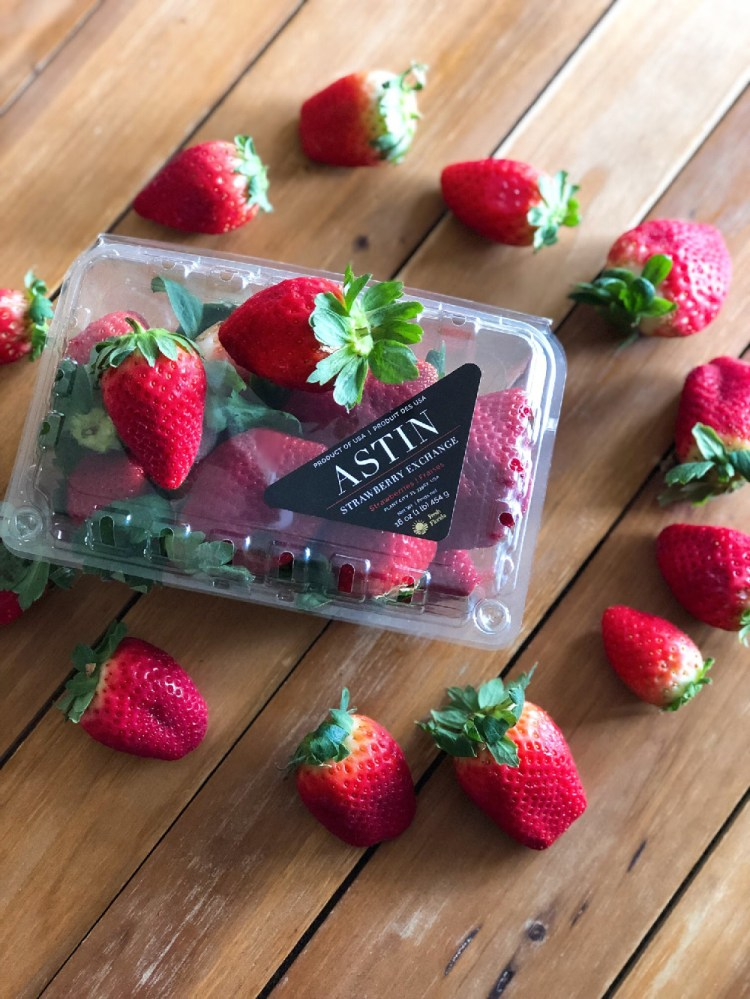 Look for Florida Strawberries which have the Fresh From Florida Label