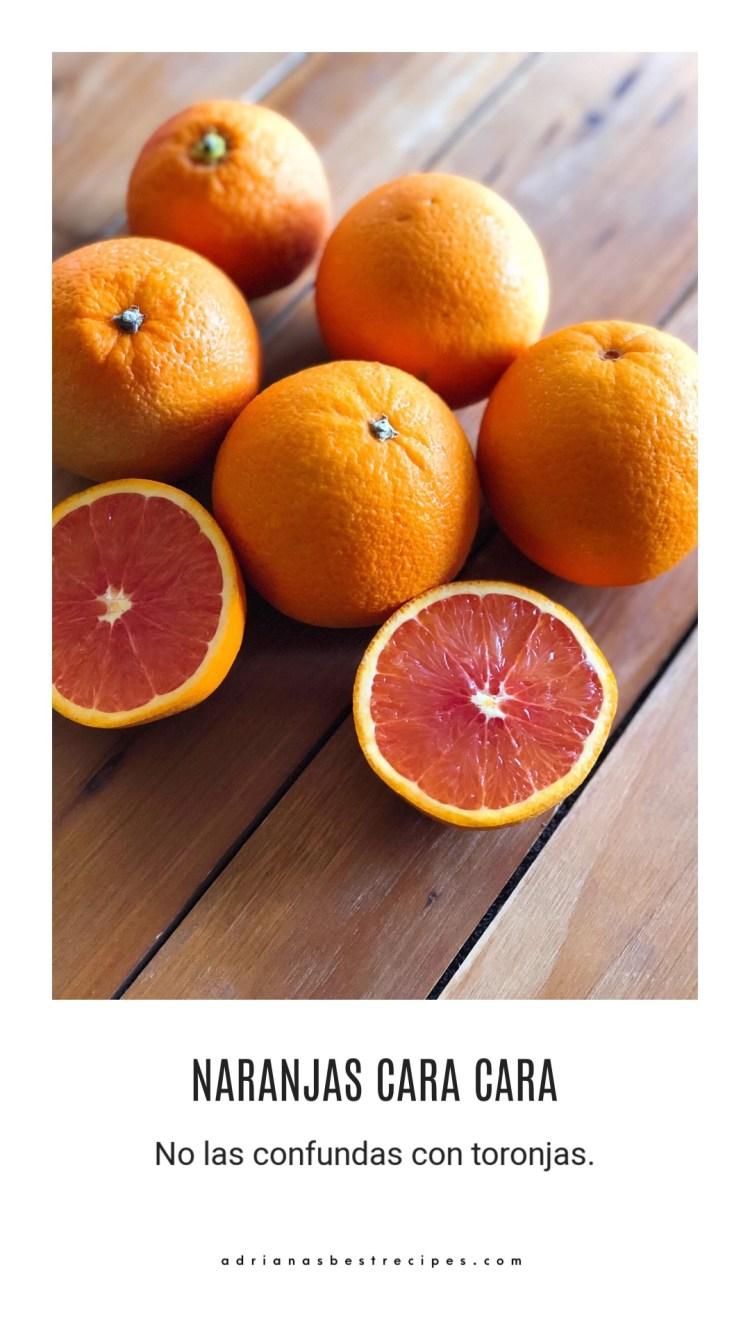 Conoce a las naranjas Cara Cara
