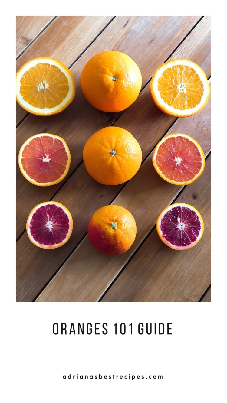 Get to know the different orange types