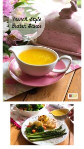 """The French style butter sauce or """"beurre blanc"""" is an incredibly delicious sauce used to pair with fish, seafood and vegetables. This sauce has shallots, white wine, white wine vinegar, and Salted Plugrá® Butter."""