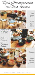 Disfruta de un maridaje con vinos italianos de Friuli, Toscana y Veneto