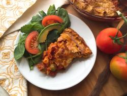 Spanish tuna pie recipe