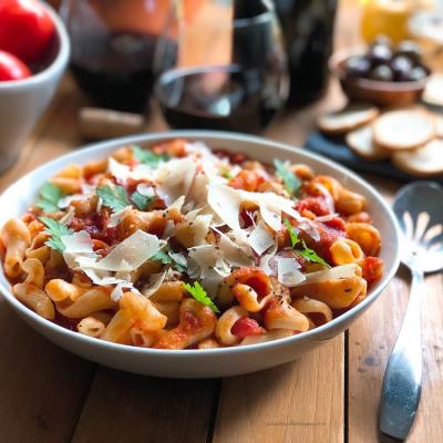 Trompetti Pomodoro with Parmigiano Reggiano