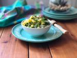 El maíz dulce de la Florida ya está en temporada por eso sugerimos deleitarse con una salsa con elote fresco, cebolla picada, cilantro, jalapeño, jugo de limón, comino y sal al gusto