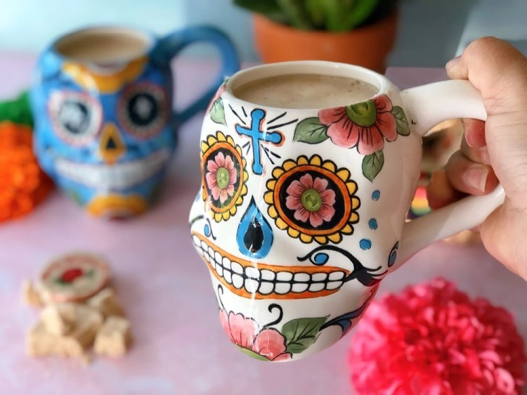 The peanut atol is a comforting Mexican hot drink