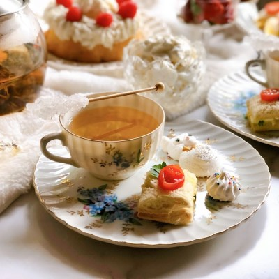 High Tea Party Downton Abbey Style
