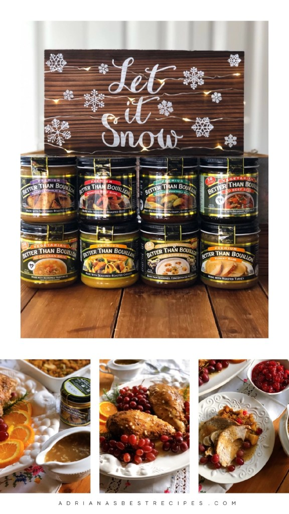 Holiday cooking with Better Than Bouillon is the way to go for flavorful meals cooked fast.