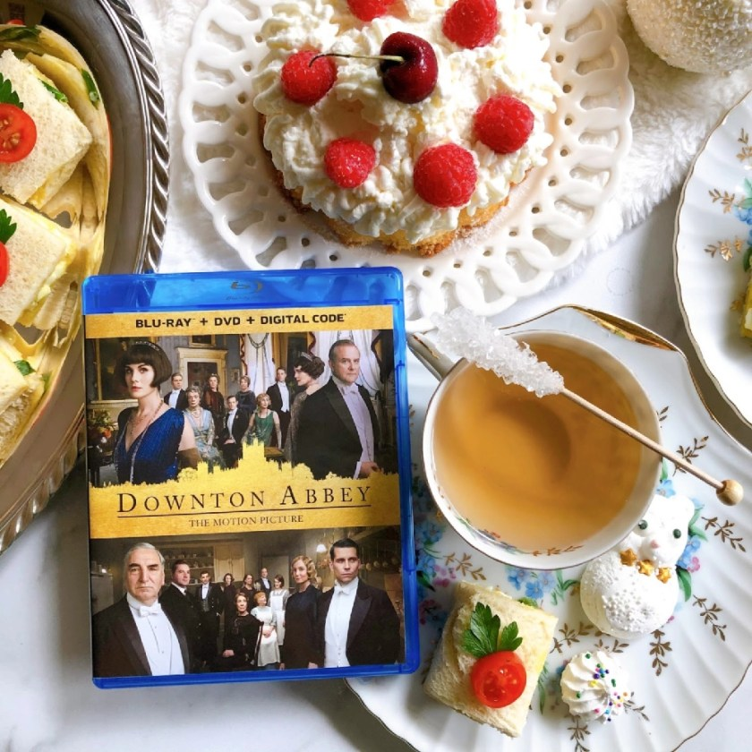 This is the tea time for Downton Abbey fans. Our menu includes tea sandwiches, Victoria sponge cake, floral tea infusion, homemade meringues, and strawberry fruit cups with freshly made whipped cream.