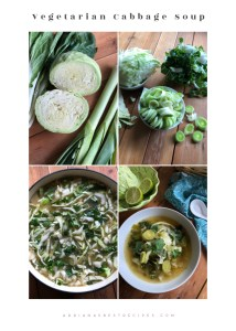 This recipe for the vegetarian cabbage soup is for those looking for a clean diet option, adding green vegetables, or otherwise starting a soup diet regimen.